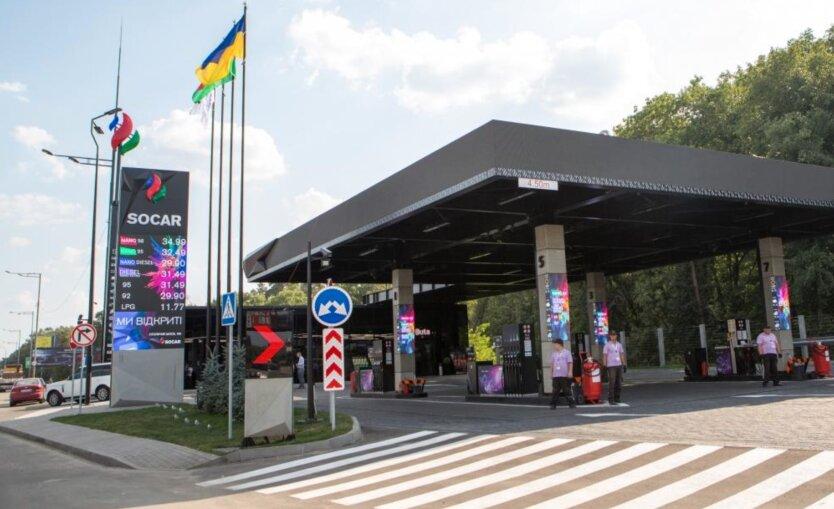 SOCAR вслед за OKKO и WOG приостановил продажу бензина и дизтоплива