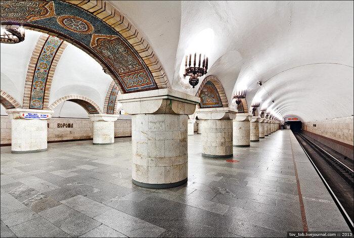 киевский метрополитен Золотые ворота