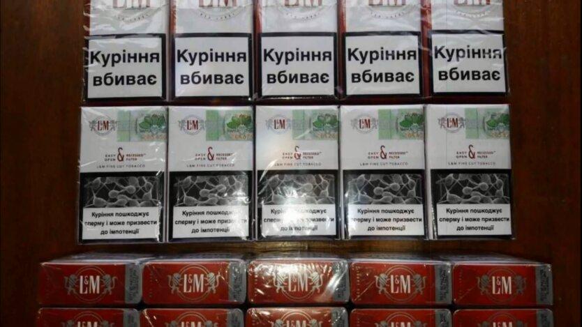 Цены на сигареты в Украине