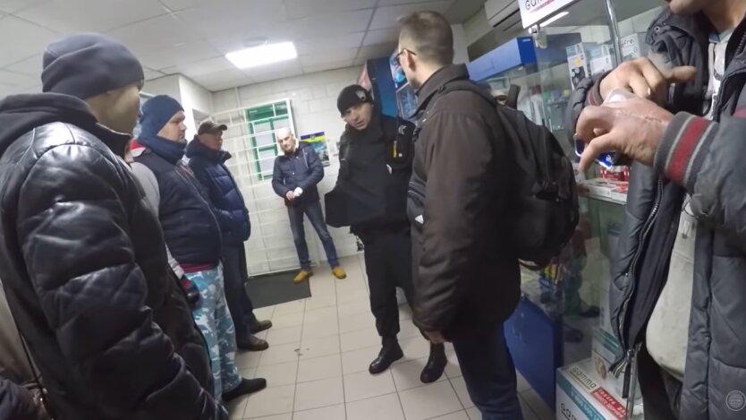 В Киеве неадекват отреагировал выстрелом на просьбу надеть маску