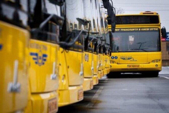 общественный транспорт автобусы