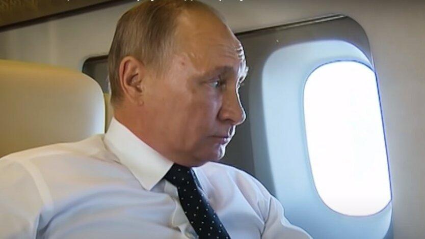 Владимир Путин,Виктор Медведчук,самолет Путина,Путин прилетел в Крым