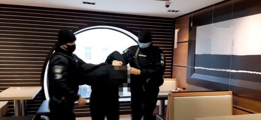 Задержание, Одесса, полиция
