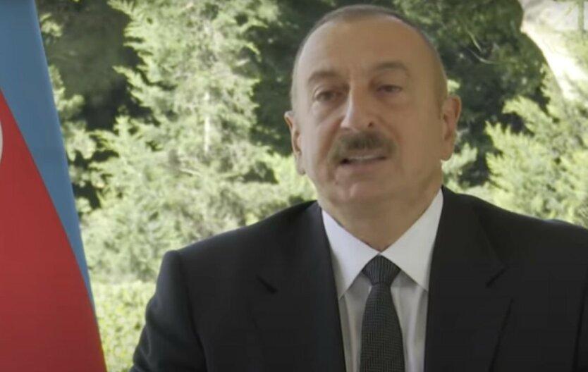 Алиев сообщил о взятии под контроль новых территорий Нагорного Карабаха