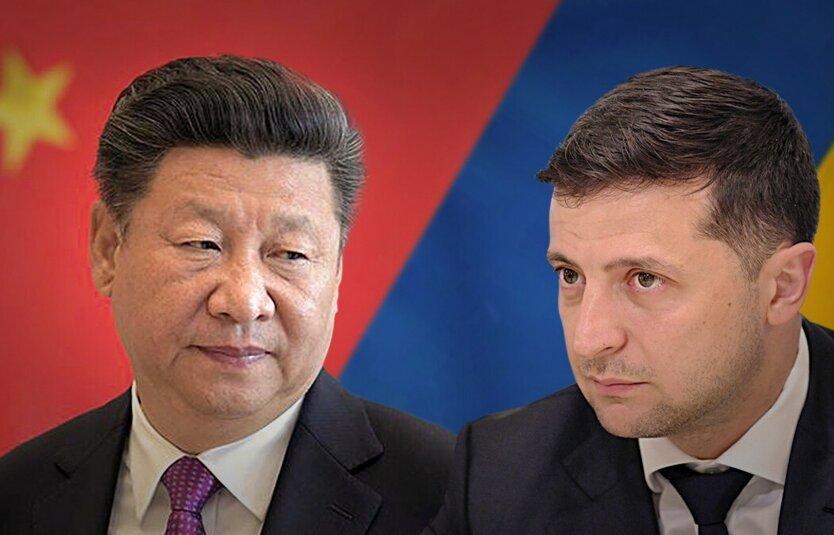 Контакт Владимира Зеленского и Си Цзиньпина: экономические акценты