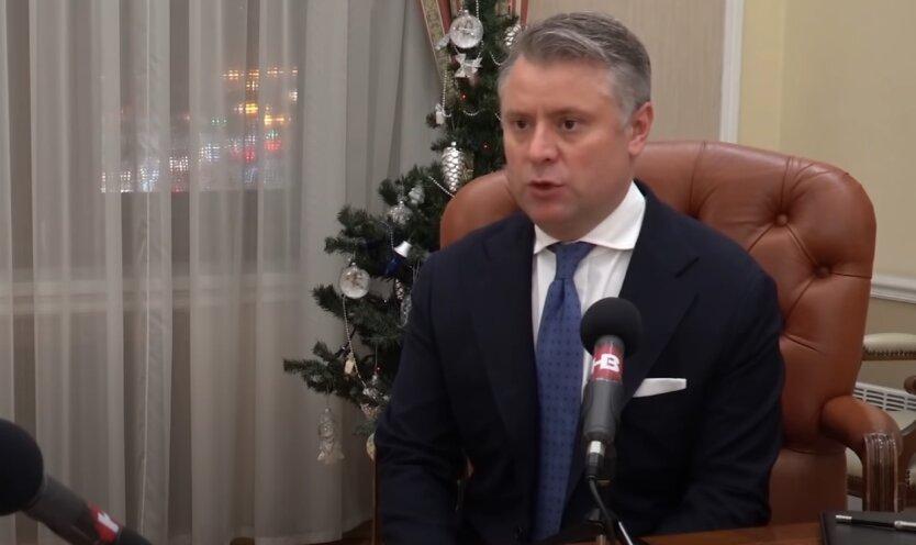 Юрий Витренко, цена на газ