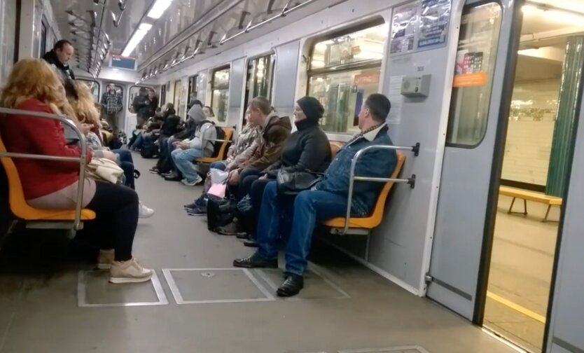 Метро в Киеве, метро в украине, закрытие метро, карантин в украине, нарушение карантина