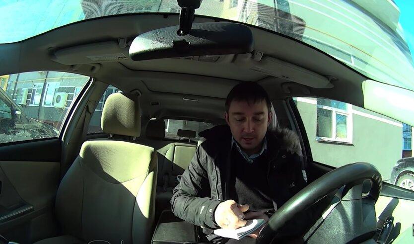 ПДД, водитель Uklon, Киев