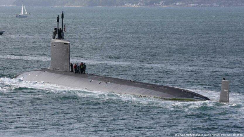 Атомная подлодка ВМС США USS Virginia SSN-774