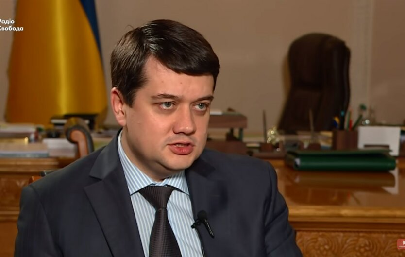 Дмитрий Разумков, санкции США, Александр Дубинский
