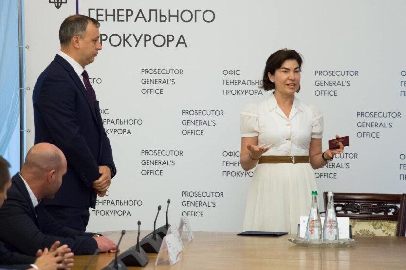Роман Говда и Ирина Венедиктова