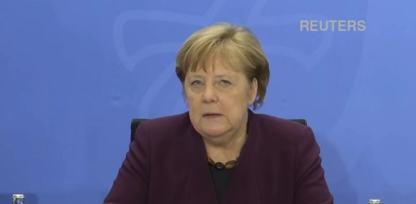 Канцлер Германии Ангела Меркель, владимир зеленский, владимир путин