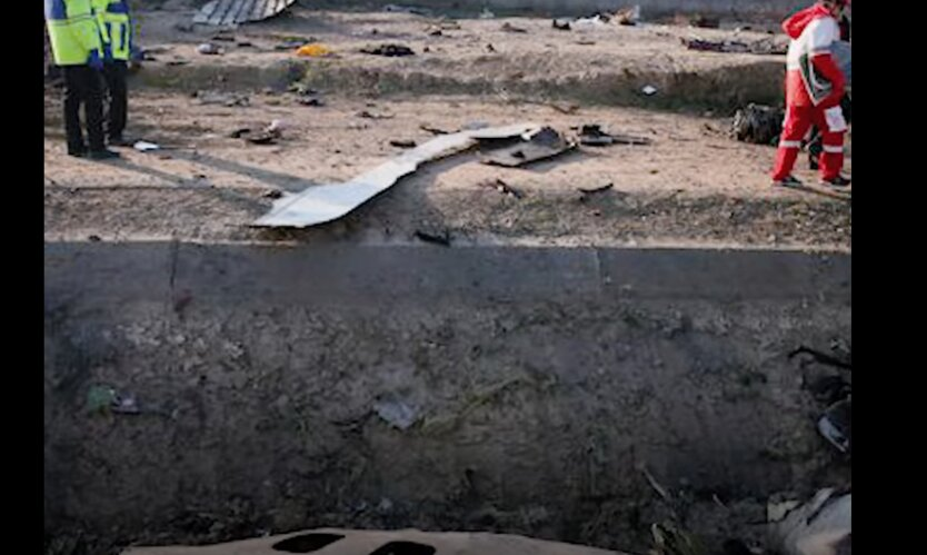МАУ, авиакатастрофа, Иран, сбитый самолет