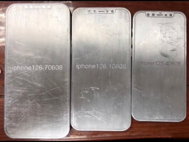 Модели iPhone 12 и iPhone 12 Pro, фото, свежий дизайн