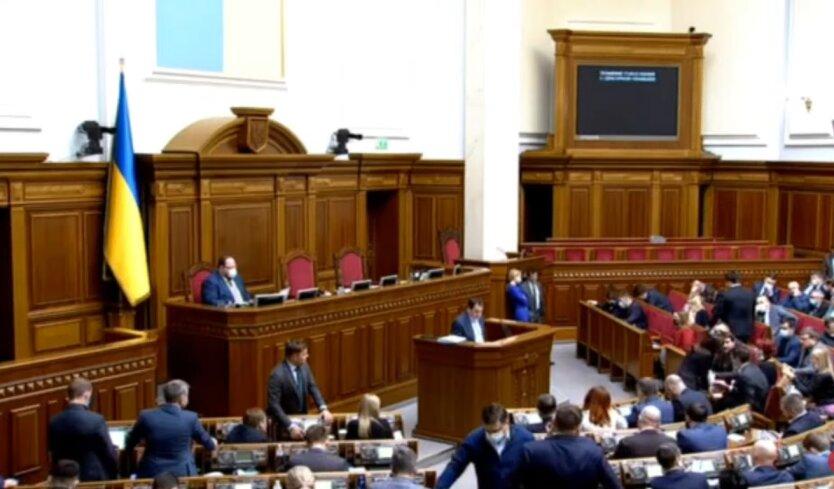 Верховная Рада Украины, локдаун в Киеве, пленарные заседания