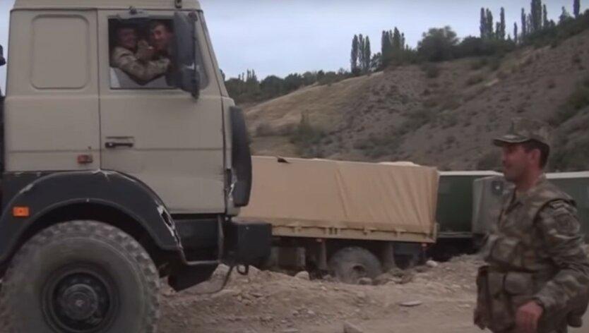 Азербайджан показал видео взятия территорий в Нагорном Карабахе