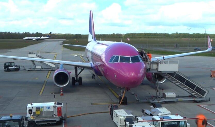 Wizz Air, запустит 26 новых рейсов, города Украины