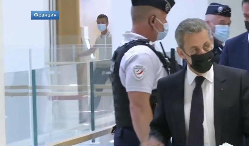 Николя Саркози, экс-президент Франции, лишение свободы