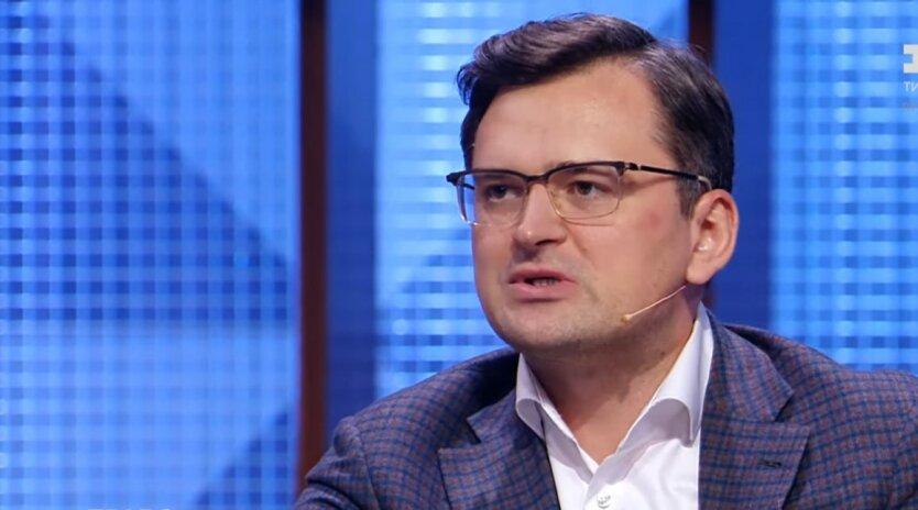 Министр иностранных дел Украины Дмитрий Кулеба, переговоры по Донбассу, Дмитрий Козак