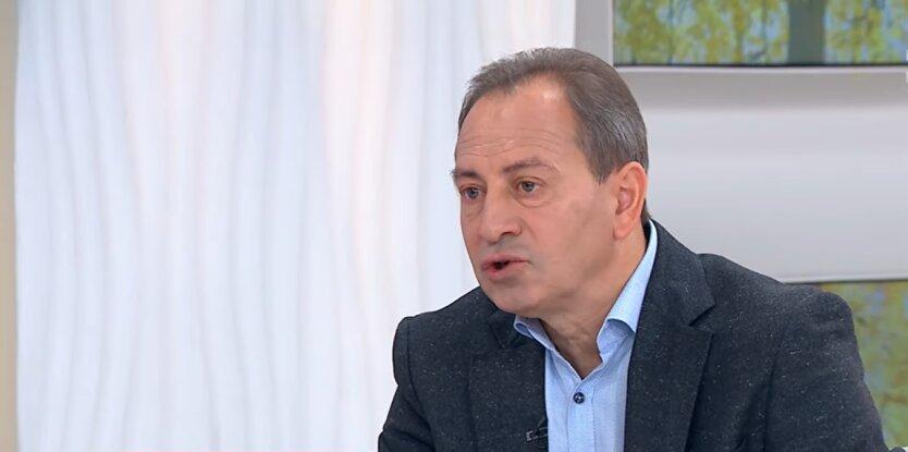 Глава политпартии Громадський рух «Рідна країна» Николай Томенко, коронавирус