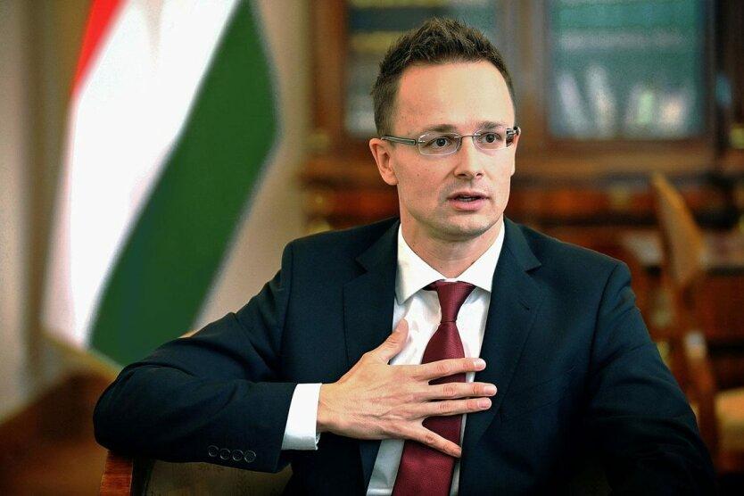 Министр иностранных дел Венгрии Петер Сийярто, Джо Байден, давление на Украину