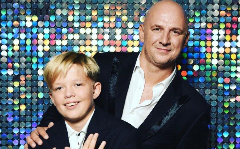 Потап с сыном Андреем