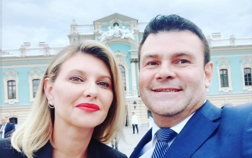 Елена Зеленская, Ростислав Друндза, скандал