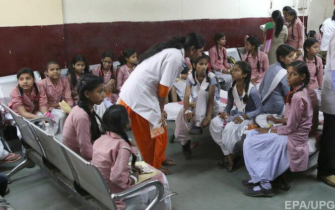 индийские дети в больнице