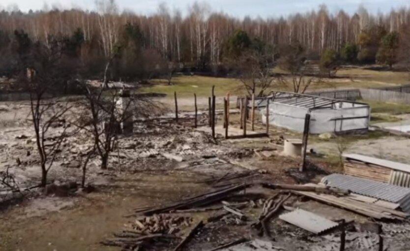 Пожары в Житомирской области