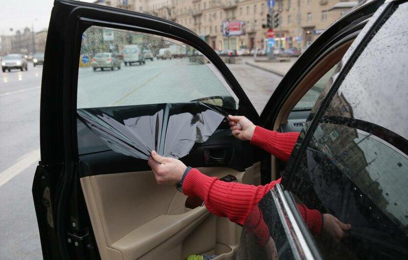 Рейд ГИБДД Москвы по проверке тонировки стекол у автомобилей