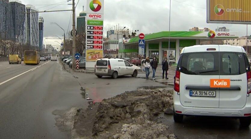 Цены на топливо, Украина, бензин, дизель