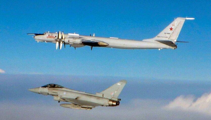 RAF Typhoon и Tу-142
