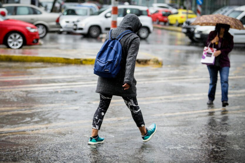 Погода в Украине, ГСЧС, ухудшение погоды в Киевской области