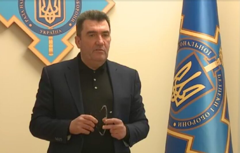 Алексей Данилов, снбо, санкции медведчук путин зеленский