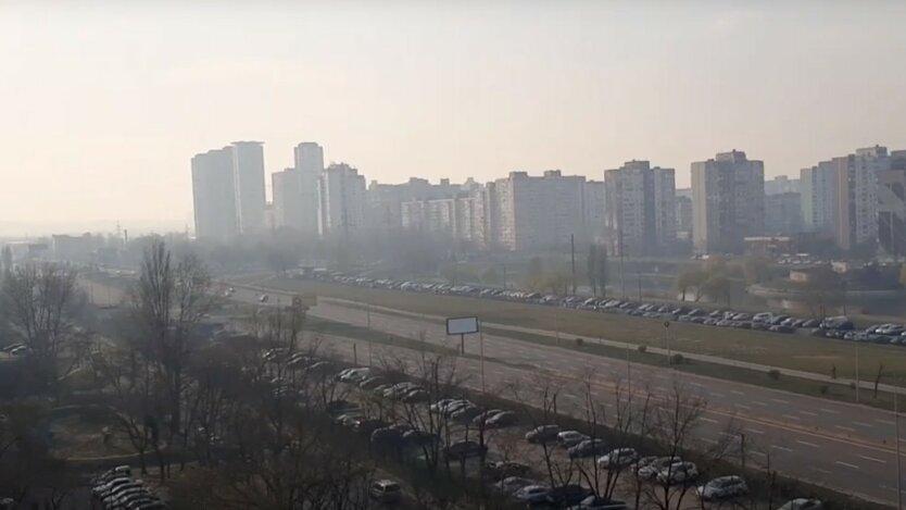 Загрязненный воздух из Чернобыля накрывает Киев и область