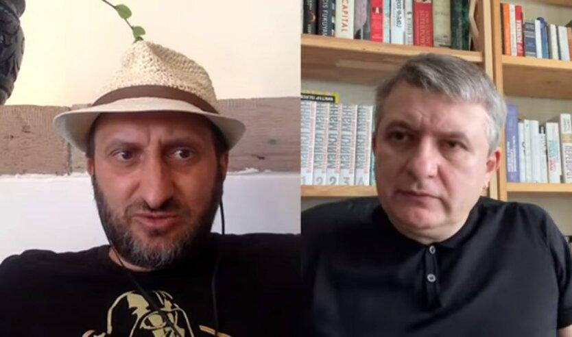 Виталий Кулик и Юрий Романенко, свобода слова, закрытие каналов Медведчука