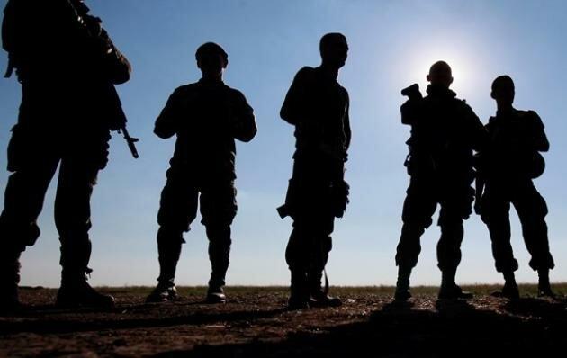 неизвестный солдат бойцы