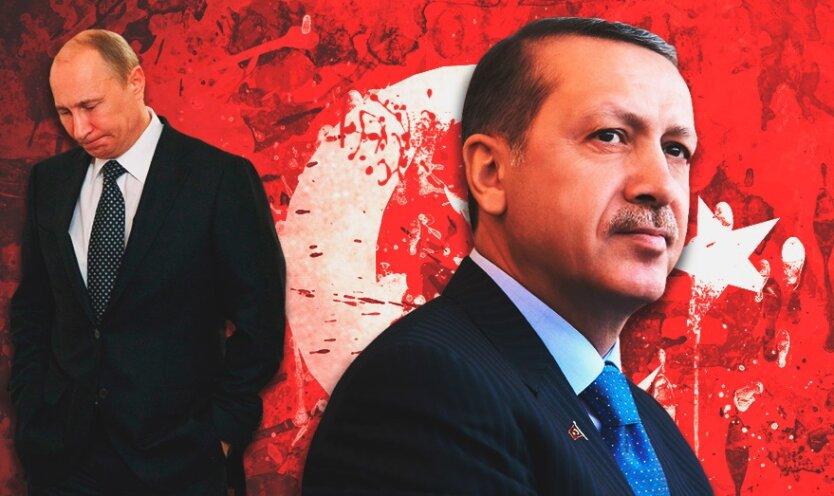 Владимир Путин Реджеп Эрдоган 2