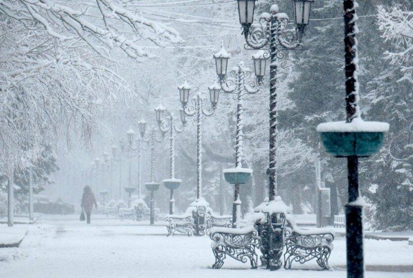 Зима 2020 в Украине