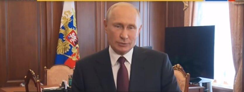 Владимир Путин, переговоры с Макроном, Украина