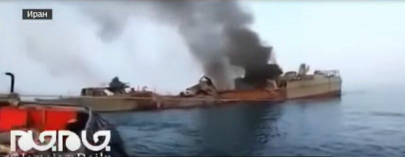 Иран, ракета, корабль