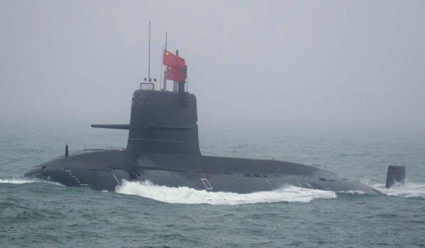 китайская подлодка