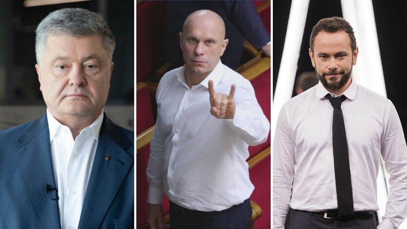 Петр Порошенко, Илья Кива, Александр Дубинский