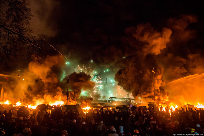 Столкновения на Грушевского11