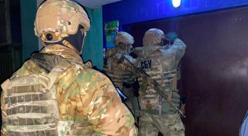 Задержание преступной группировки на Днепропетровщине