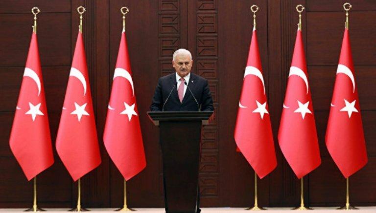 Бинали Йылдырым_премьер Турции