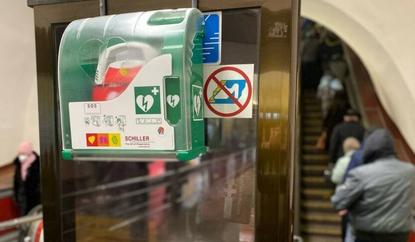 В метро Киева позаботились о здоровье пассажиров