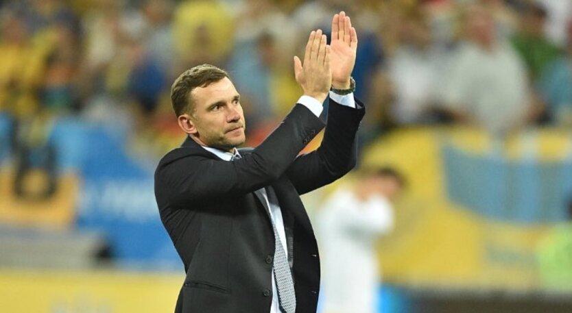 Шевченко покидает сборную Украины по футболу