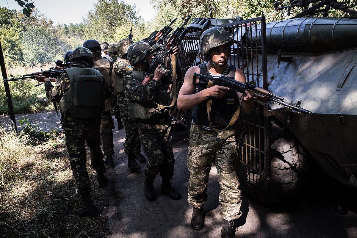 отзыв фото военных действий на востоке украины суть работы