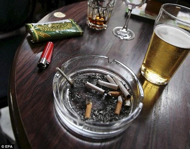 Картинки пиво с сигаретами